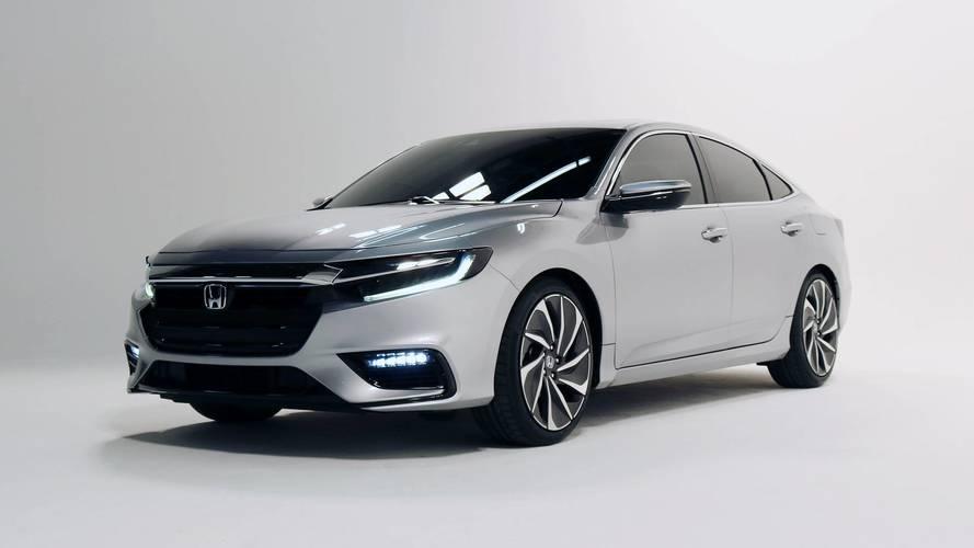 Honda divulga imagens do Insight, rival do Toyota Prius