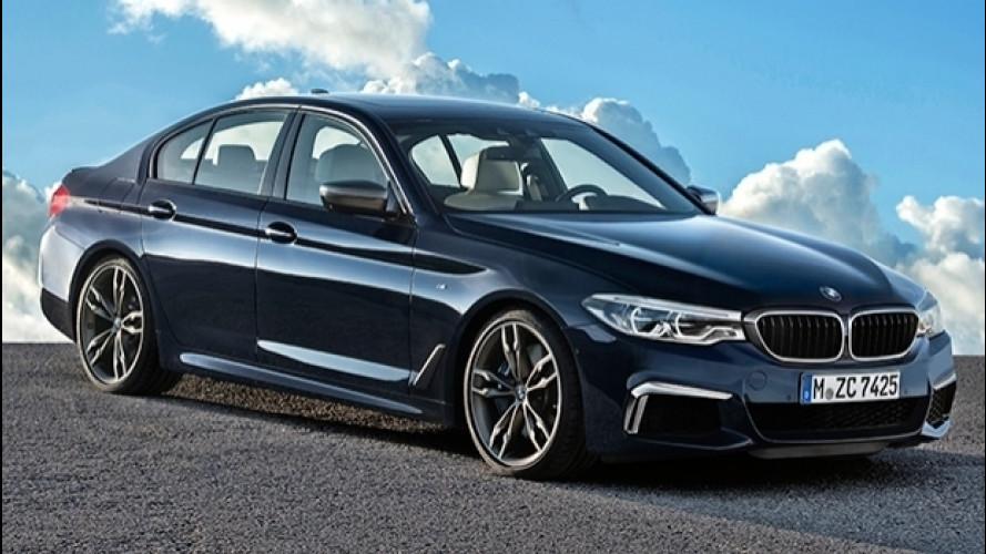 BMW M550i xDrive, quasi una M5 a trazione integrale