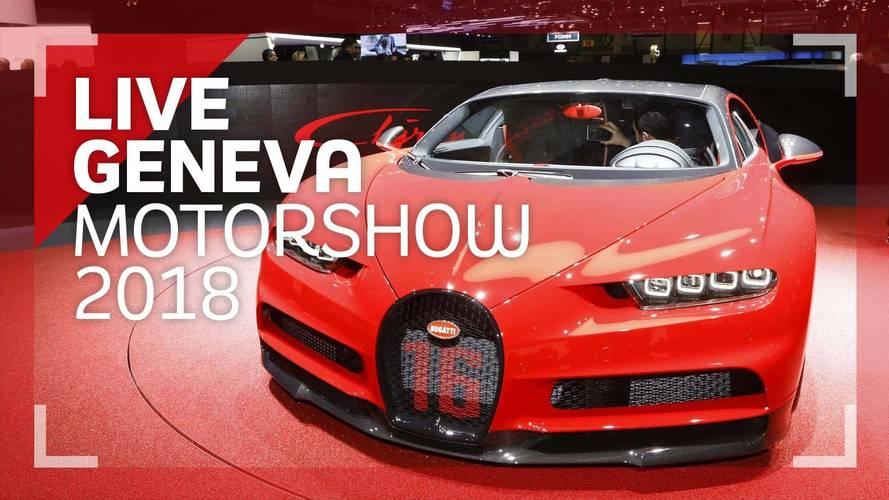 Genève 2018 - La Bugatti Chiron Sport en vidéo !
