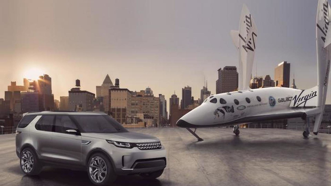 Land Rover Discovery Vision concept leaked photo