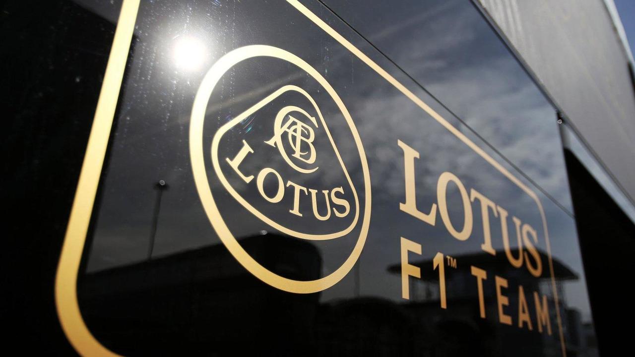 Lotus F1 Team logo 29.06.2013 British Grand Prix