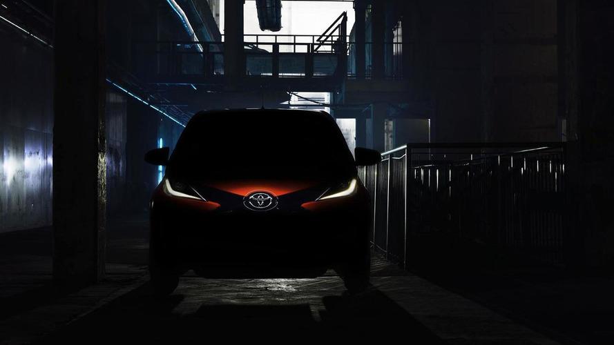 2014 Toyota Aygo teased ahead of Geneva unveiling [video]
