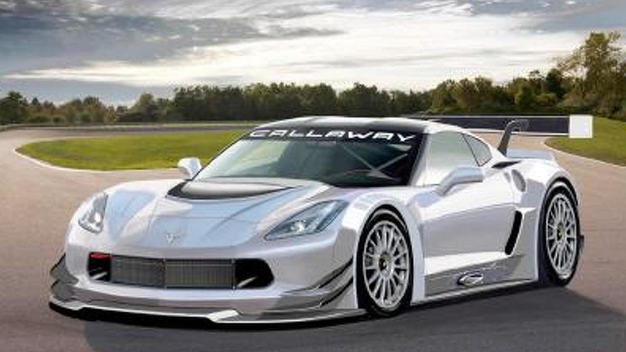 Callaway Corvette C7 GT3 25.07.2013