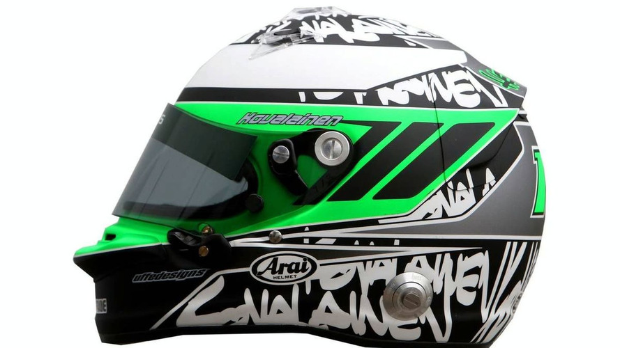 Kovalainen to wear green helmet in 2010