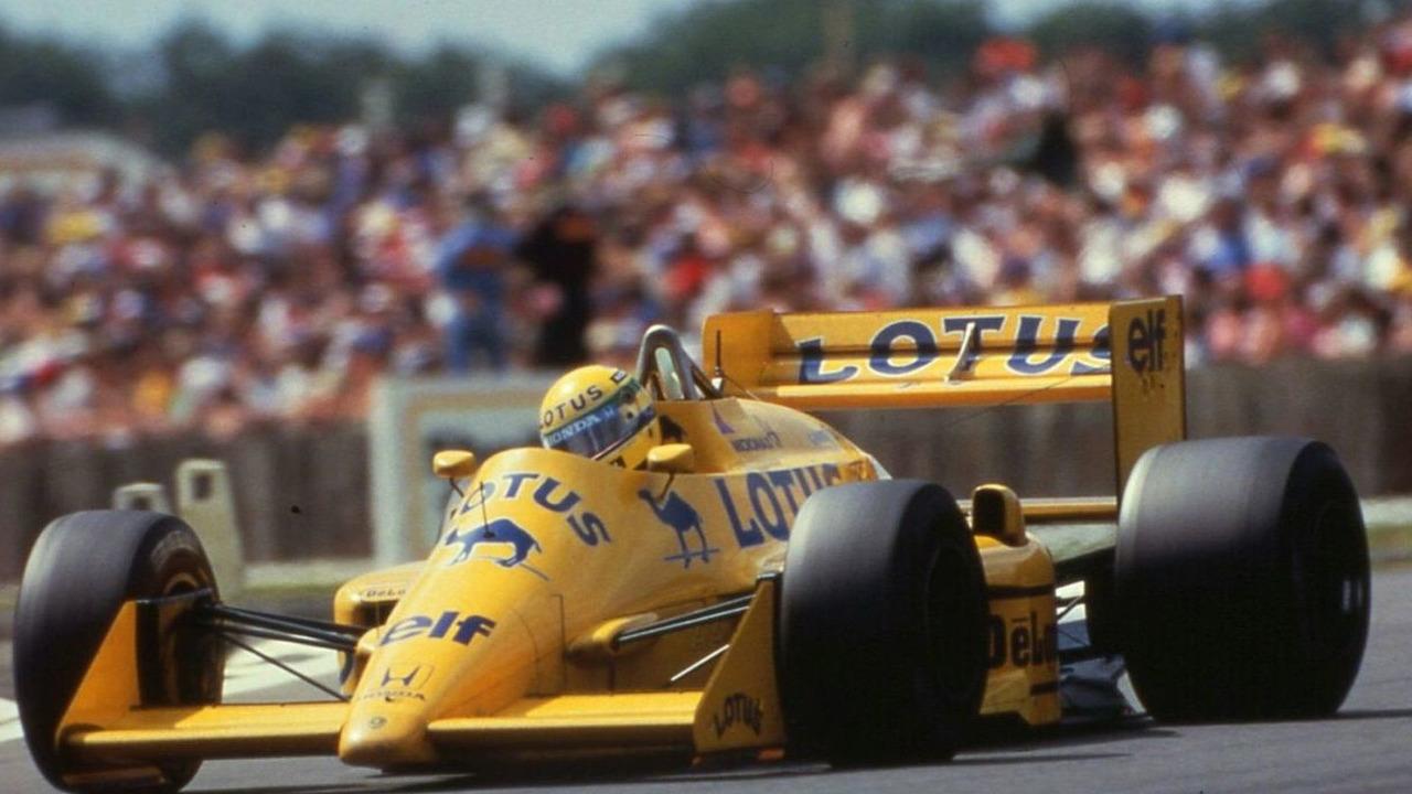 Lotus 99T Formula One car 1987