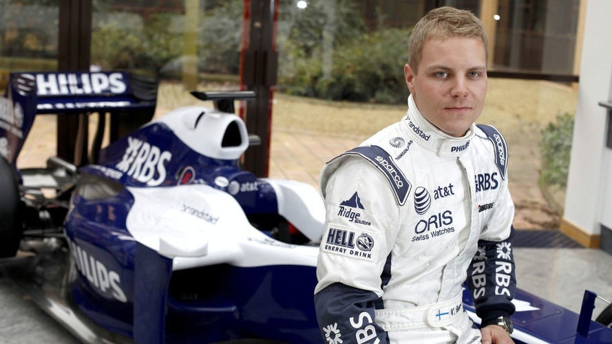Tester Bottas drove Williams at Silverstone