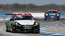 911 GT3 Cup, Alex Job Racing: Bill Sweedler, Romeo Kapudija, Jan-Dirk Lueders, American Le Mans Series, round 1 in Sebring, USA, qualifying, 19.03.2010