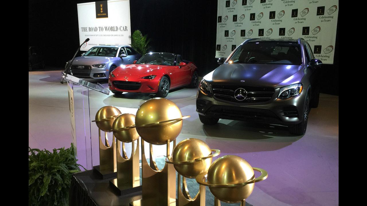 World Car Of The Year 2016, la premiazione