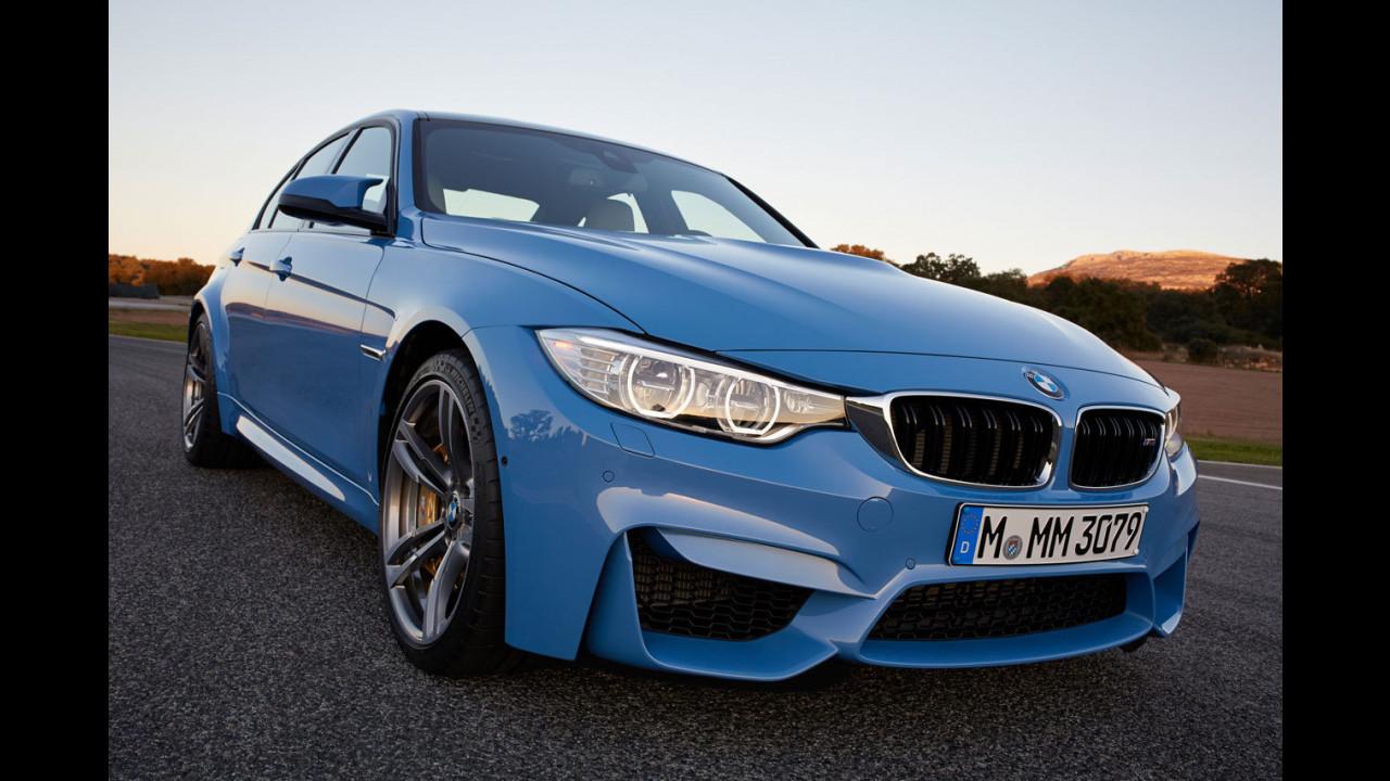 Nuova BMW M3 Berlina