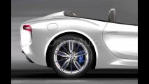 Maserati Alfieri Cabrio, il rendering