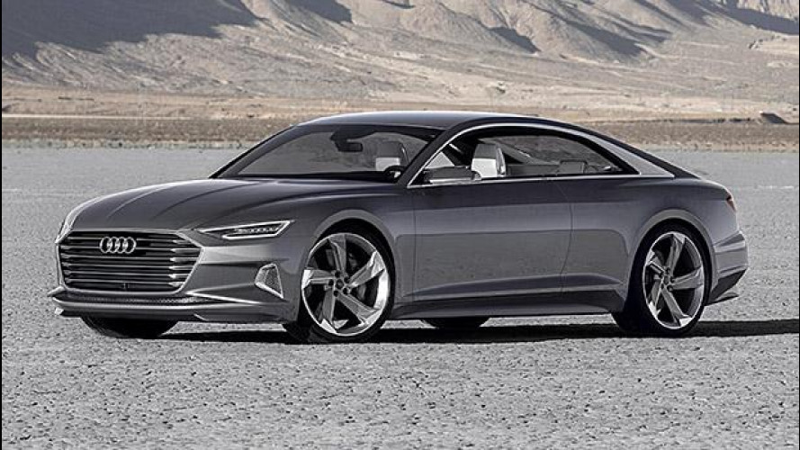 Audi prologue piloted driving, la chiami e lei arriva