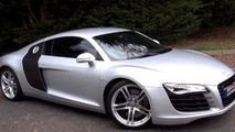 Audi R8 V8 bought with YouTube videos money