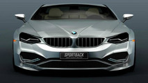 BMW 7-Series Sportback Concept renderings show a future flagship sedan
