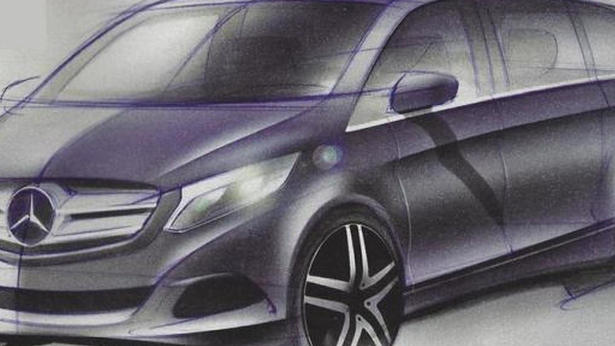 2014 Mercedes-Benz Viano design sketches leaked ?