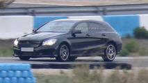 2015 Mercedes CLA Shooting Brake spy photo