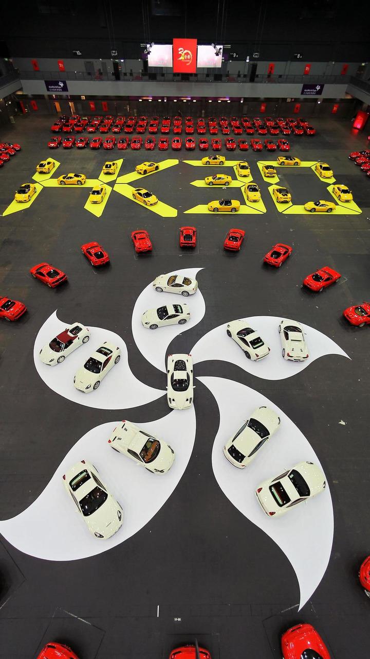 Ferrari celebrates 30th anniversary in Hong Kong 21.10.2013