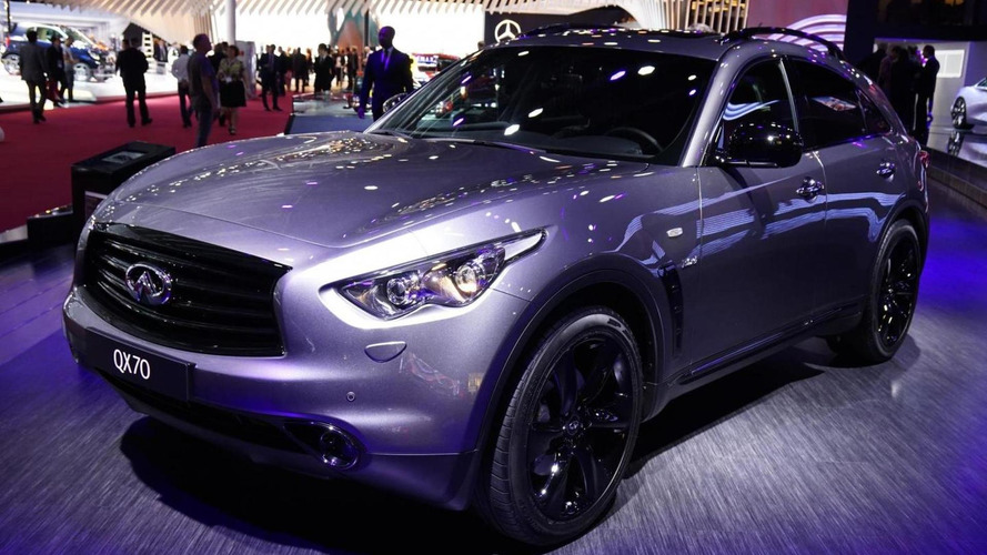 Infiniti QX70 S Design bows in Paris