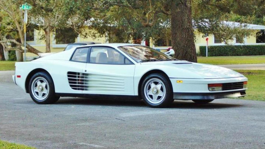 Ferrari Testarossa from Miami Vice costs $1.75M