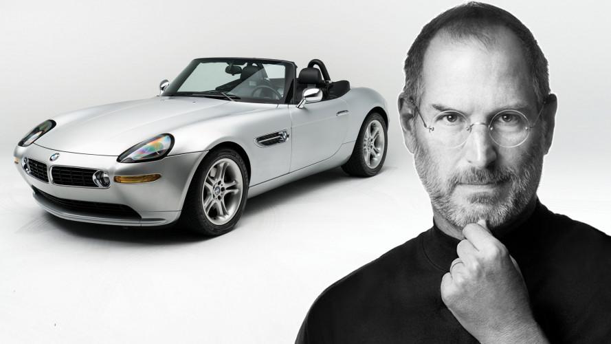All'asta la BMW Z8 di Steve Jobs, con tanto di Motorola