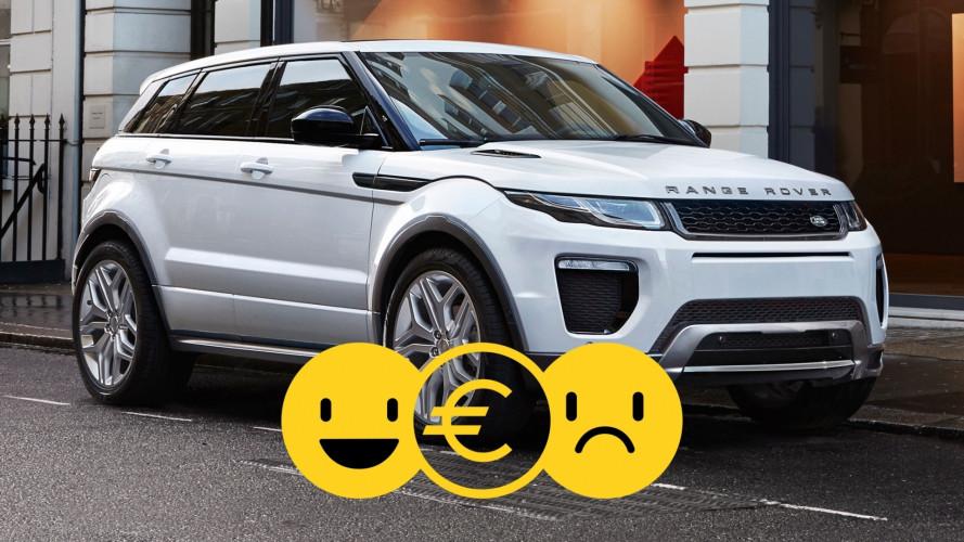 Range Rover Evoque con Easy Land Rover, perché conviene e perché no