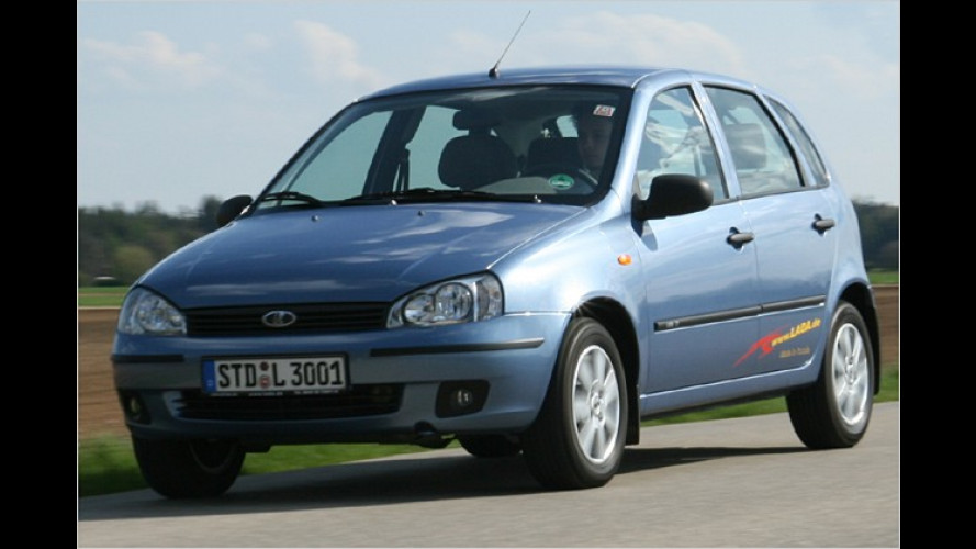 Fließheck-Lada 1119: Alternative in der Billig-Klasse?