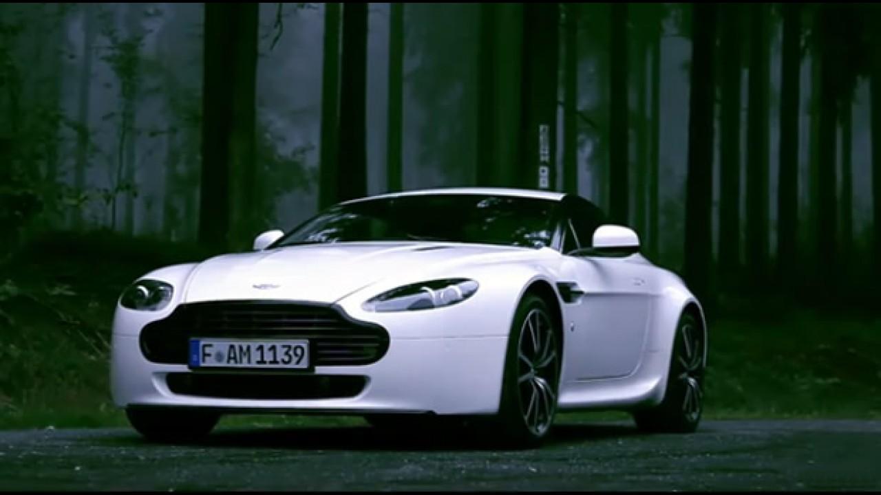 Aston Martin divulga vídeo comercial do Vantage V8 N420