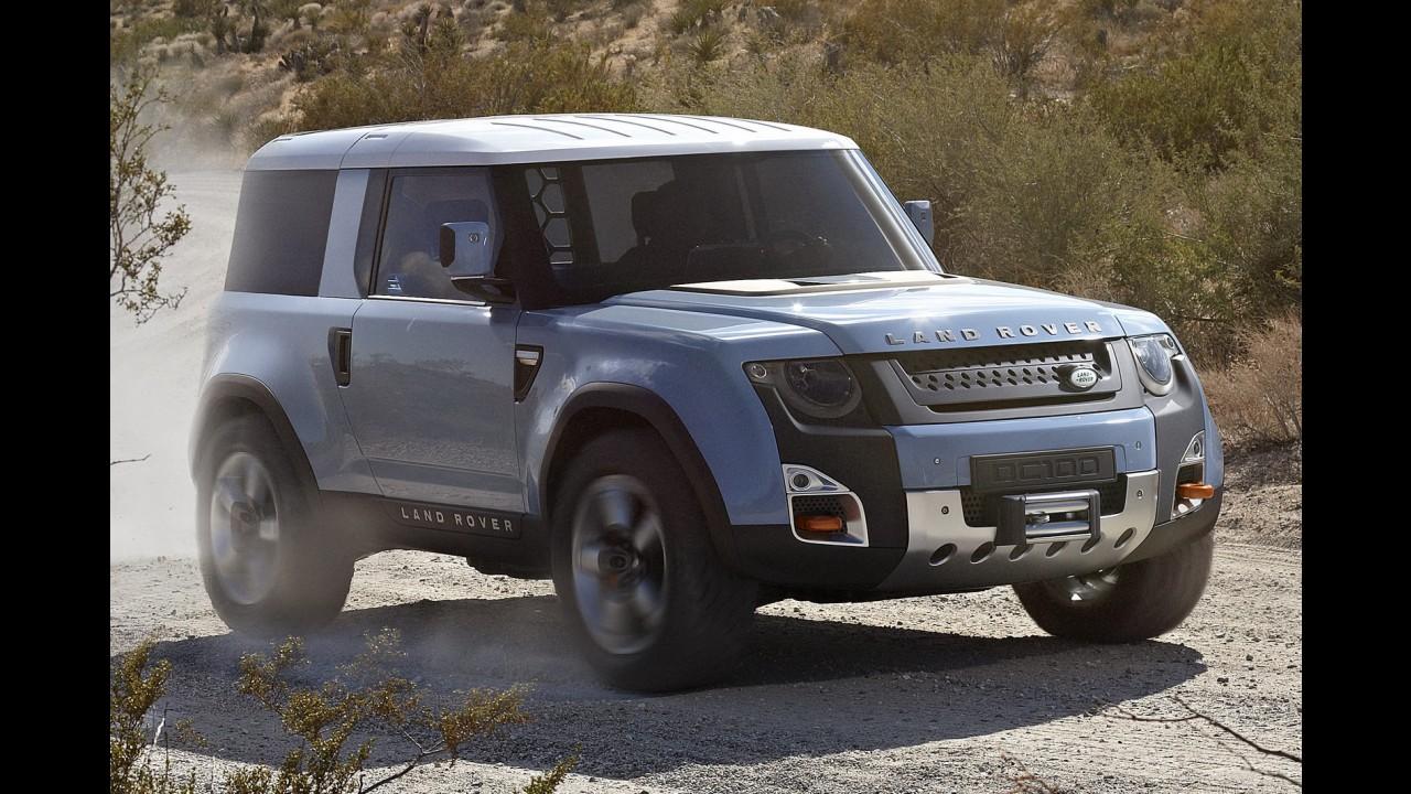 Sucessor do Land Rover Defender será produzido apenas na Índia