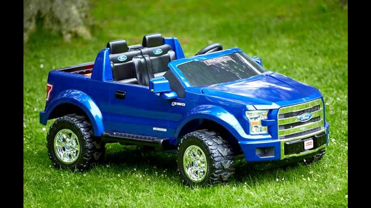 Nova Ford F-150 para crianças tem sistema de som com MP3 e até LEDs