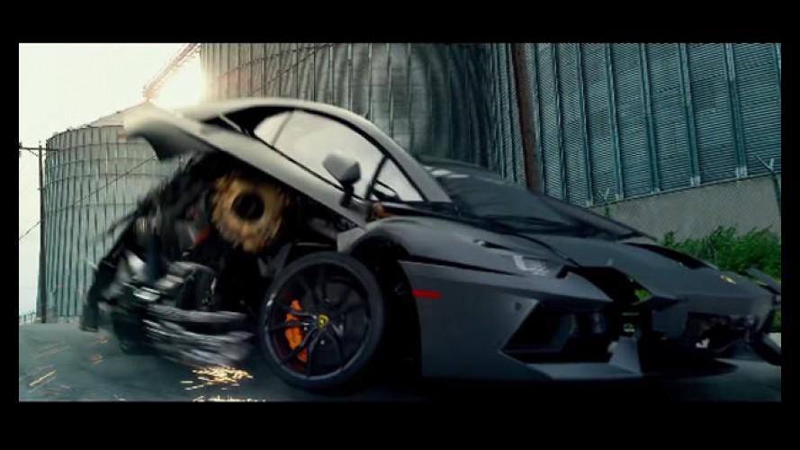 Sim! Lamborghini Aventador será um Transformer!