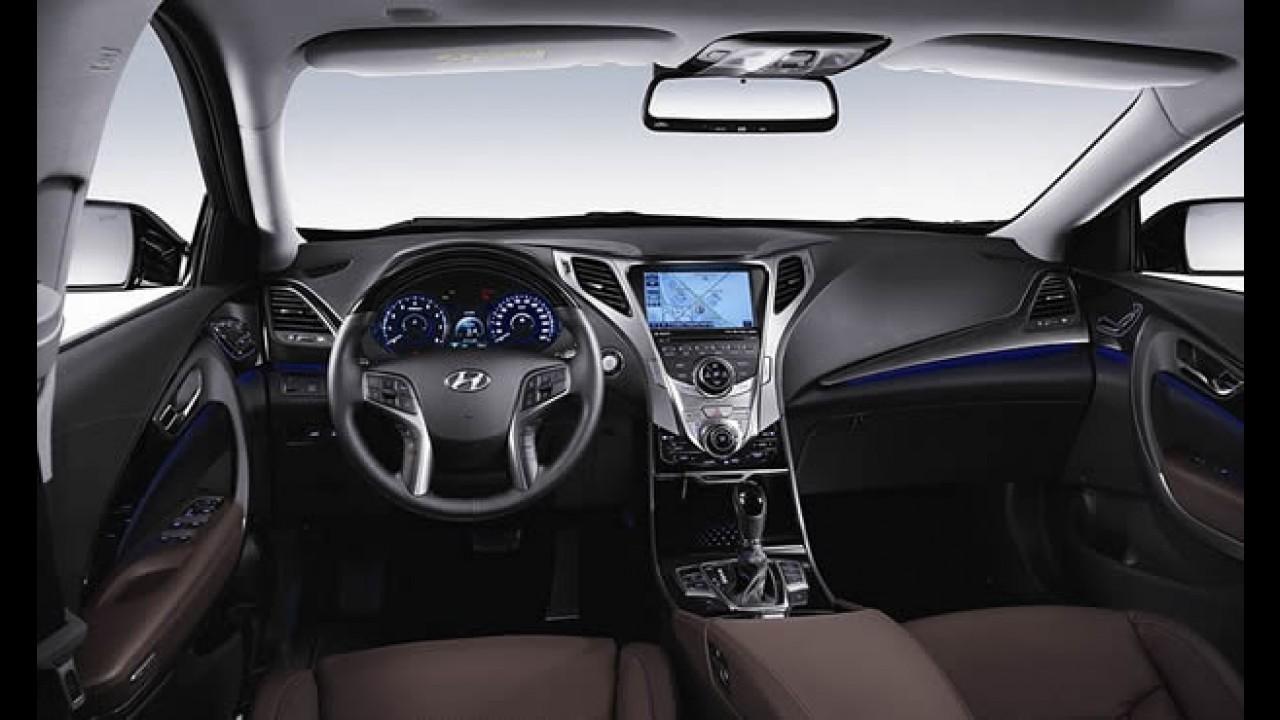 OFICIAL: Assim é o interior do novo Hyundai Azera 2012