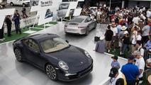 2012 Porsche 911 display, Porsche Rennsport Reunion IV 16.10.2011