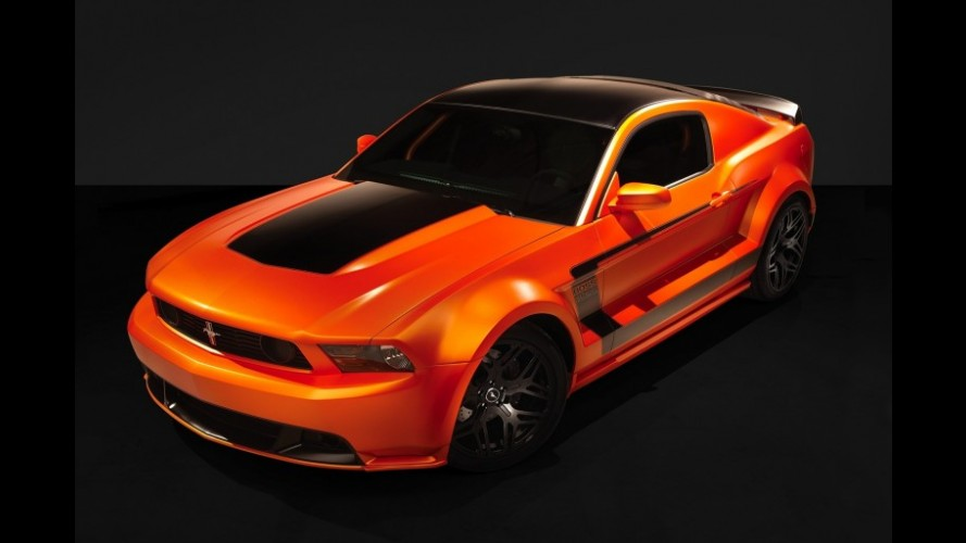 GAS Ford Mustang Boss 302-X