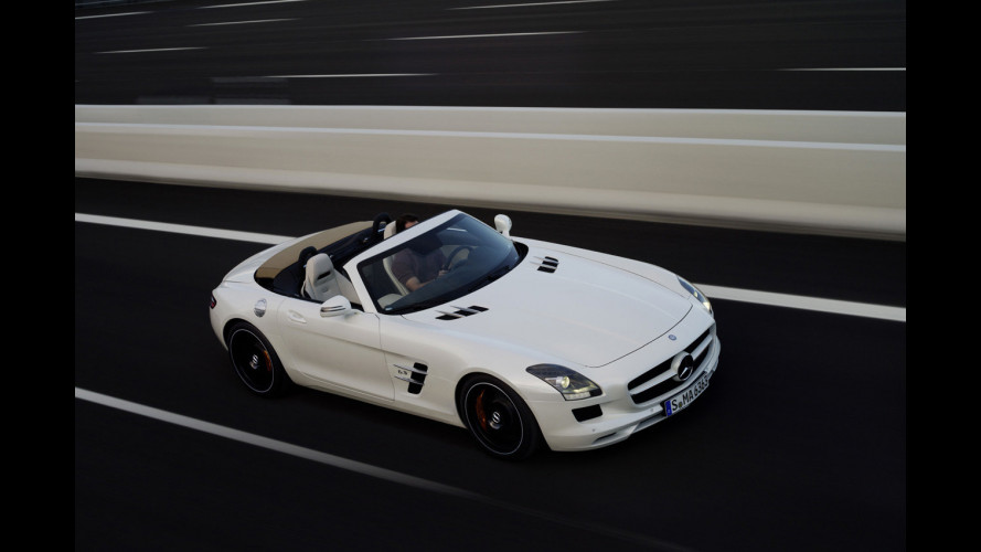 Mercedes SLS AMG: Roadster o Coupé?