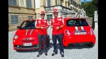 Una Abarth 695 Tributo Ferrari per Alonso e Massa