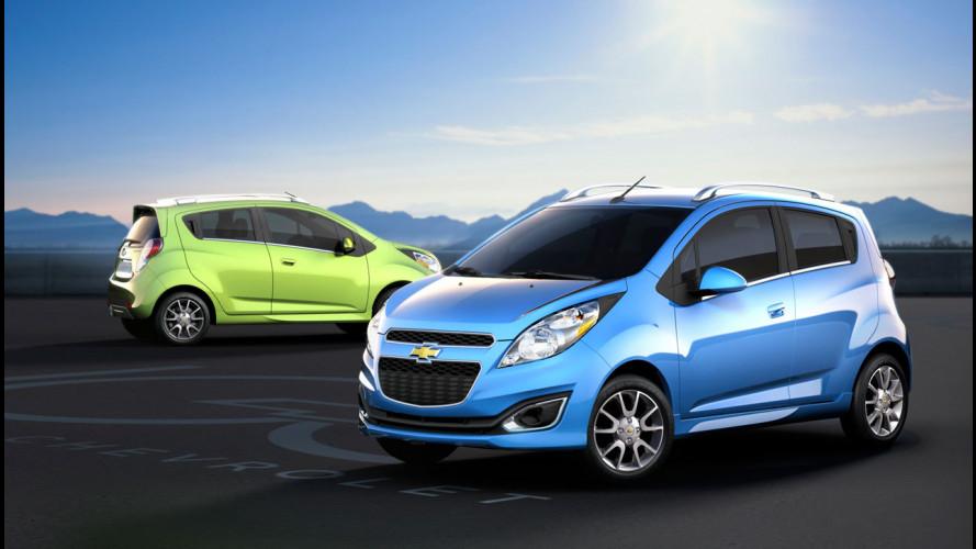 Chevrolet Spark per il Nordamerica
