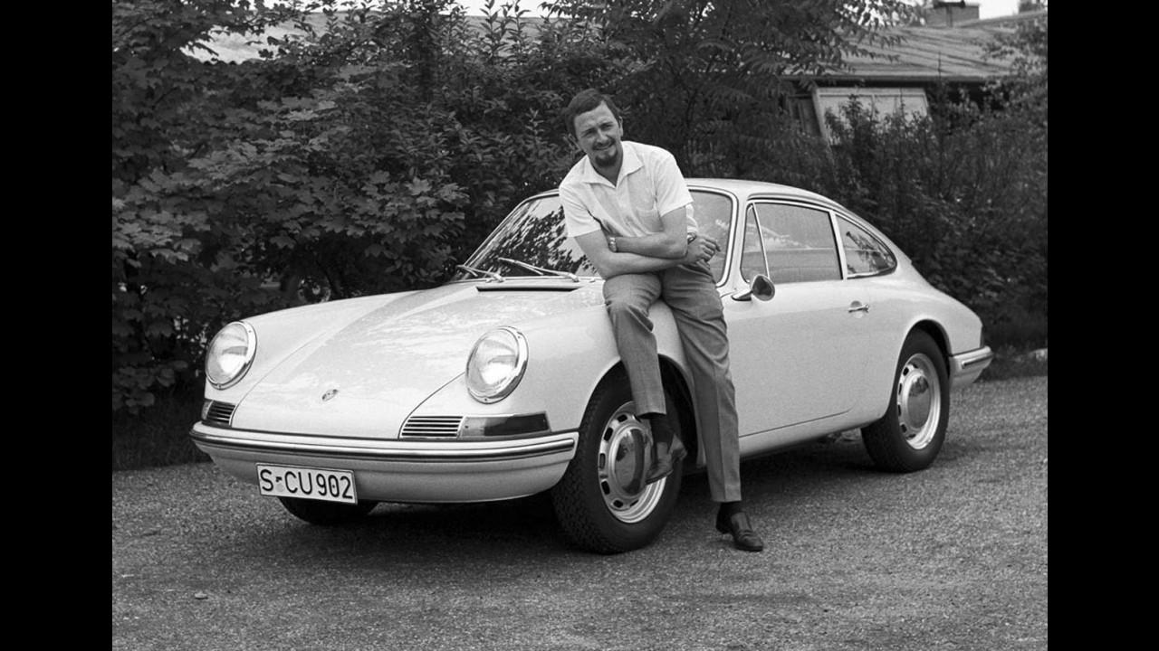 Ferdinand Alexander Porsche (1963) e la Porsche 901