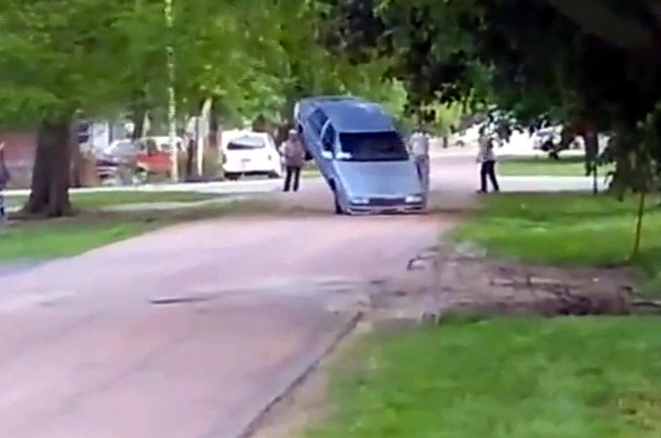 Buicks Are Not For Cutting Down Trees [video]