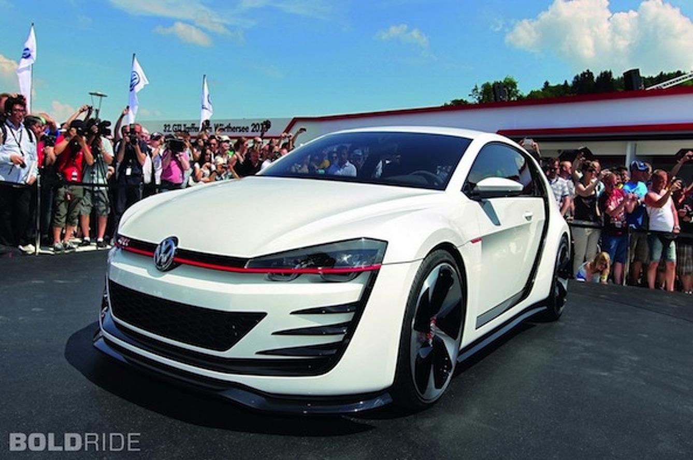 Bold RIde of the Week: Volkswagen Design Vision GTI