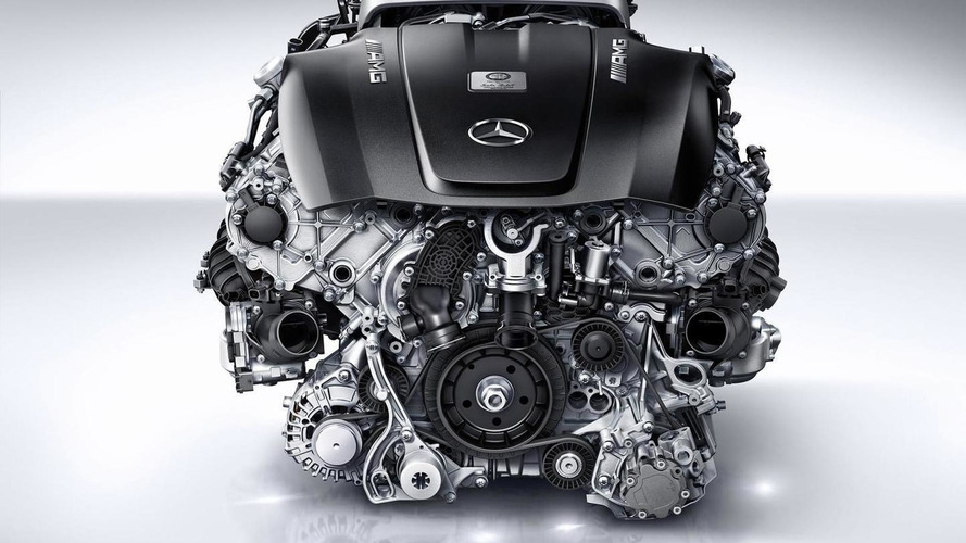 Mercedes highlights the testing & development of their twin-turbo 4.0-liter V8 engine [video]