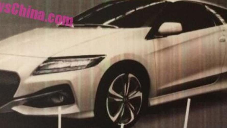 Honda CR-Z facelift leaked