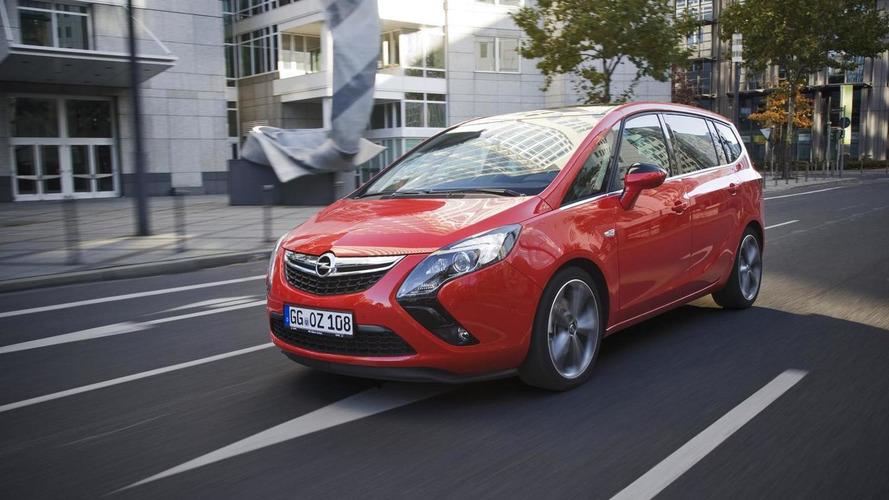 Opel Zafira Tourer BiTurbo is the fastest diesel compact seven-seater van