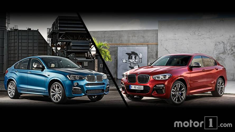 2019 BMW X4: See The Changes Side-By-Side