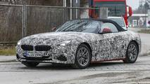 2018 BMW Z4 spied with less camo