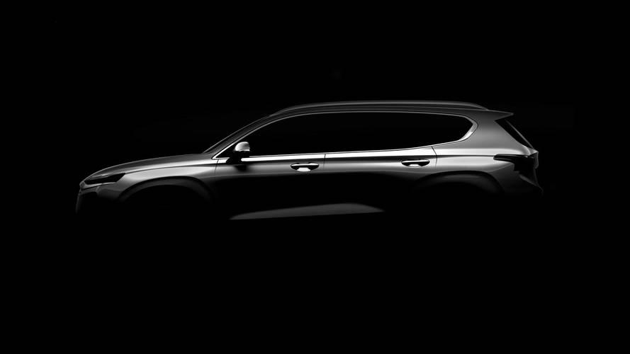Hyundai Santa Fe 2019 - Teaser