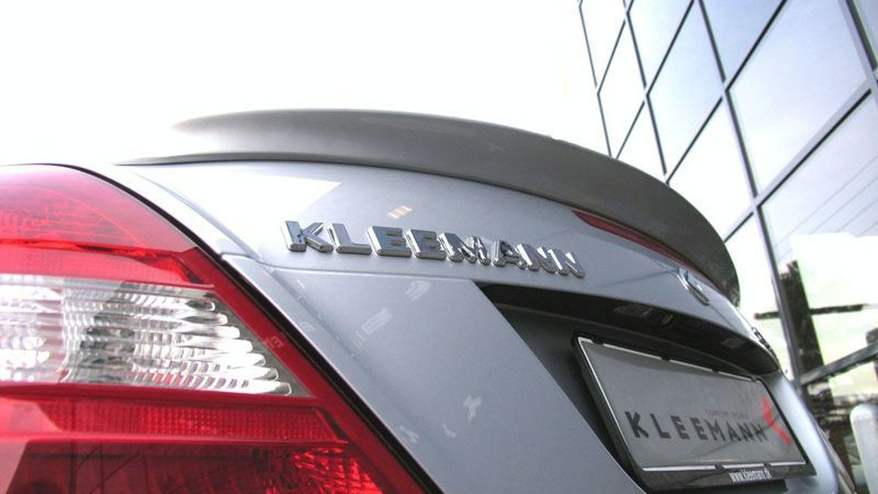 Kleemann components for Mercedes-Benz SLK