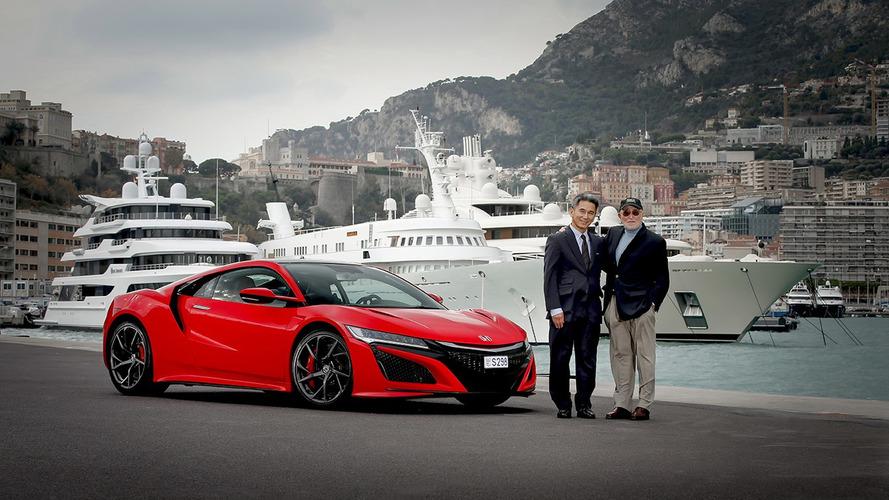 Avrupa'nın ilk NSX'i, Honda'nın eski CEO'suna teslim edildi