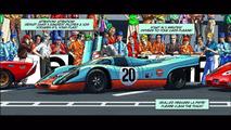 Steve McQueen in Le Mans graphic novel