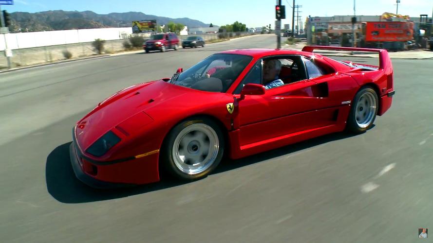 Jay Leno, Ferrari F40 sürmeyi yapılacaklar listesinden çıkarttı