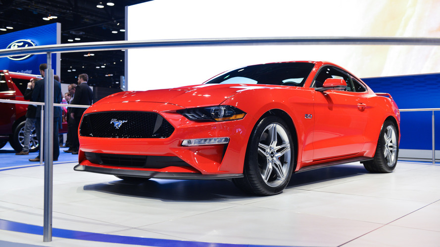 2018 Ford Mustang, Chicago'da boy gösteriyor
