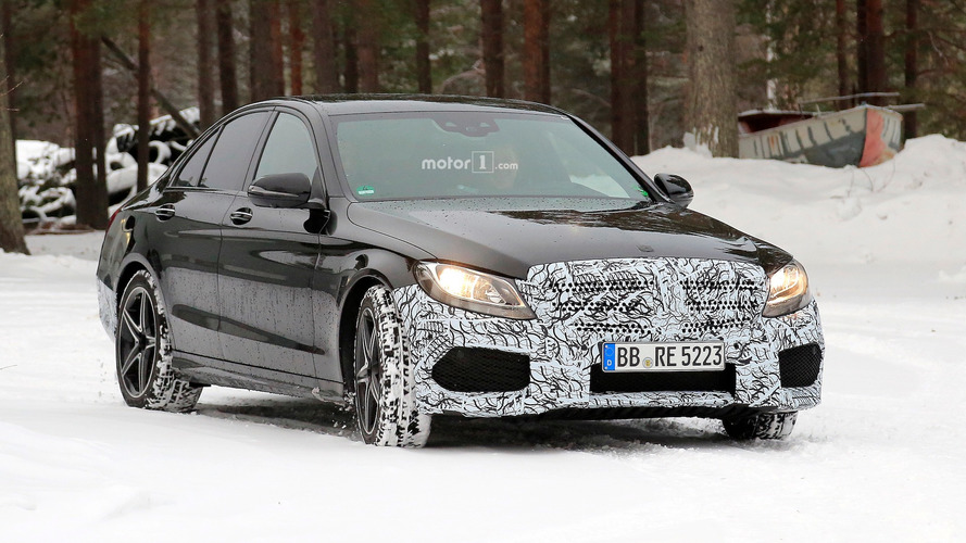 Mercedes-AMG C 43 Berline 2018 en photos espion